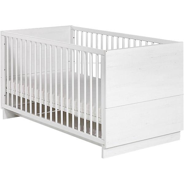 Kinderbett weiß 70x140  Kinderbett SOL, Pinie/weiß, 70 x 140 cm, Geuther | myToys