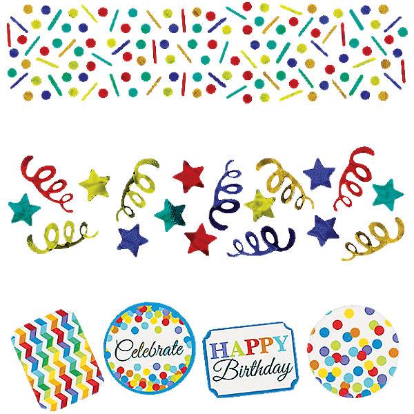 Motivkonfetti/Streudeko Bright Birthday, 34 g, Amscan