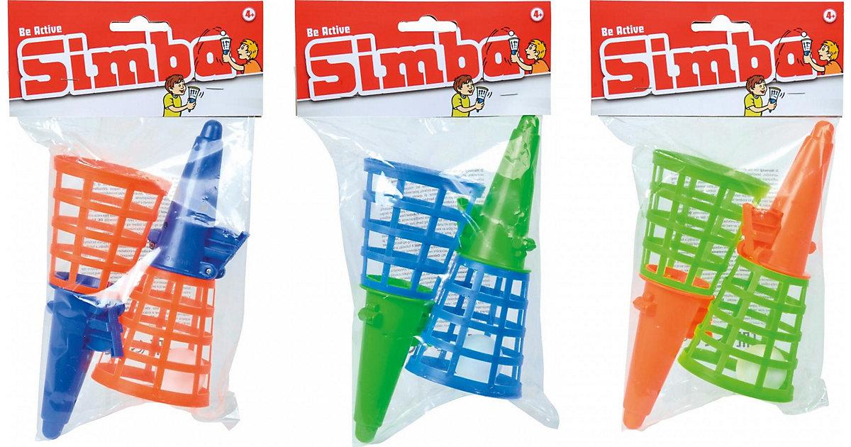 Fangballspiel Doppelset, sortiert