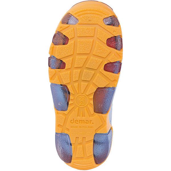 """Резиновые сапоги со съемным носком Demar Stormer Lux Print """"Котик"""""""