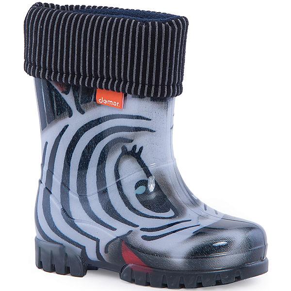 "Резиновый сапоги Twister Lux Print ""Зебра"" DEMAR"