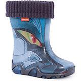 """Резиновые сапоги со съемным носком Demar Lux Print """"Трансформер"""""""
