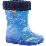 """Резиновые сапоги со съемным носком Demar Stormer Lux Print """"Космос"""""""