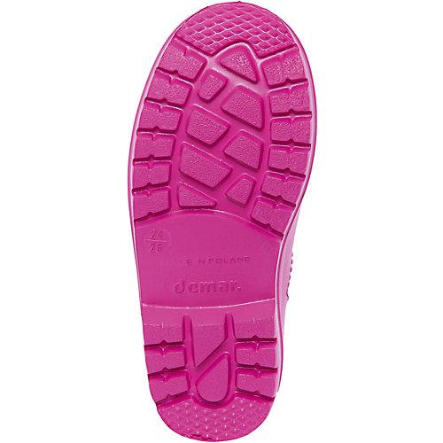 Резиновые сапоги со съемным носком Demar Dino - розовый от Demar
