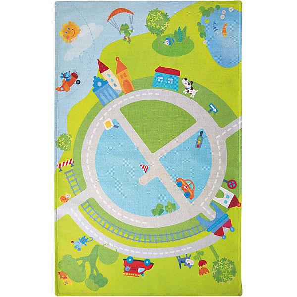 Kinderteppich haba  HABA 302029 Kinderteppich Kullerbü, 90 x 140 cm, Haba | myToys