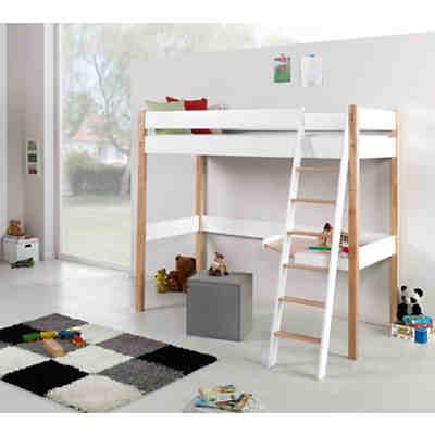 hochbett noel buche massiv natur lackiert relita mytoys. Black Bedroom Furniture Sets. Home Design Ideas