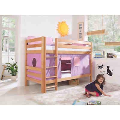 vorhangset f r spielbett eliyas und alex ohne rutsche pink rosa relita mytoys. Black Bedroom Furniture Sets. Home Design Ideas