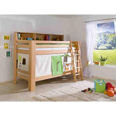 vorhangset f r spielbetten gr n orange relita mytoys. Black Bedroom Furniture Sets. Home Design Ideas