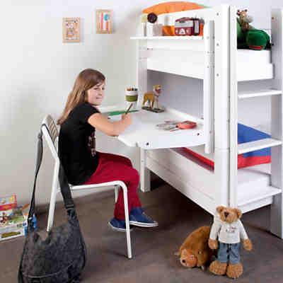 schreibtisch f r spielbett leo buche massiv wei wash relita mytoys. Black Bedroom Furniture Sets. Home Design Ideas