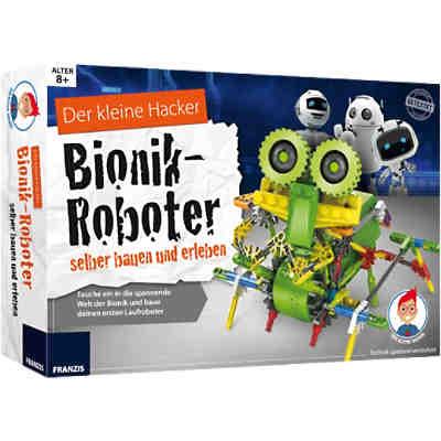 franzis der kleine hacker bionik roboter selber bauen und erleben mytoys. Black Bedroom Furniture Sets. Home Design Ideas
