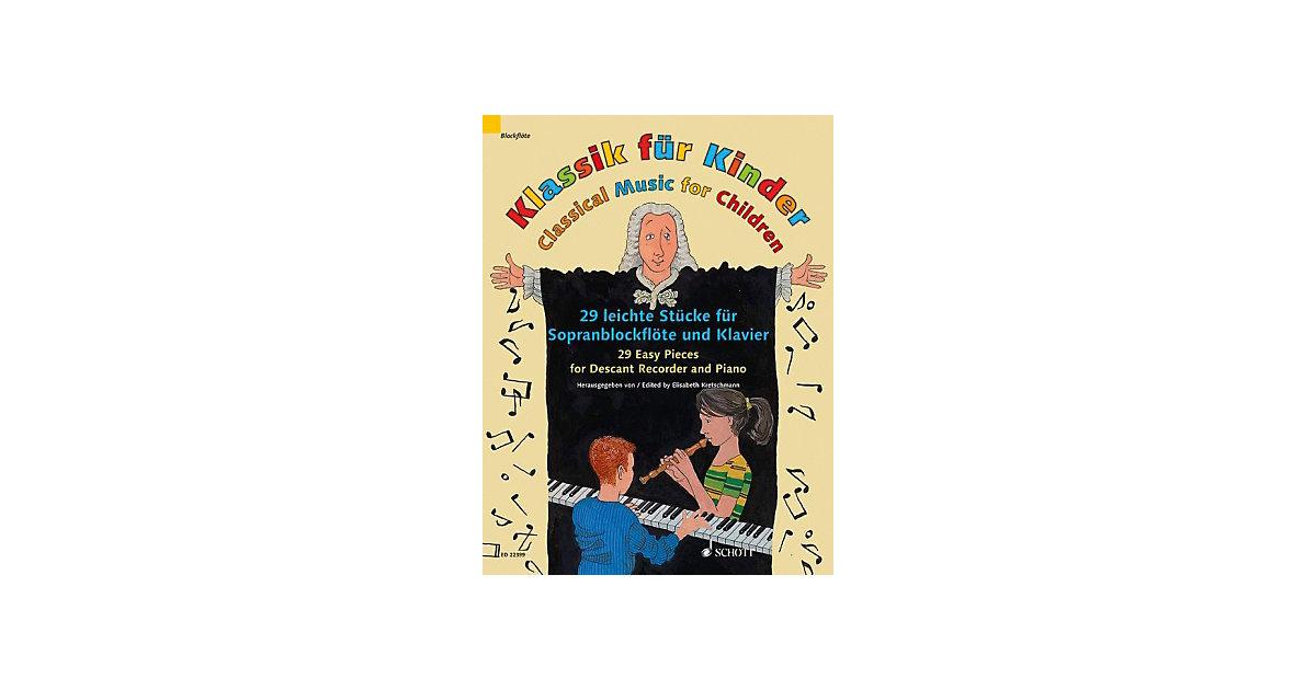 Klassik Kinder, Sopranblockflöte und Klavier Ki...