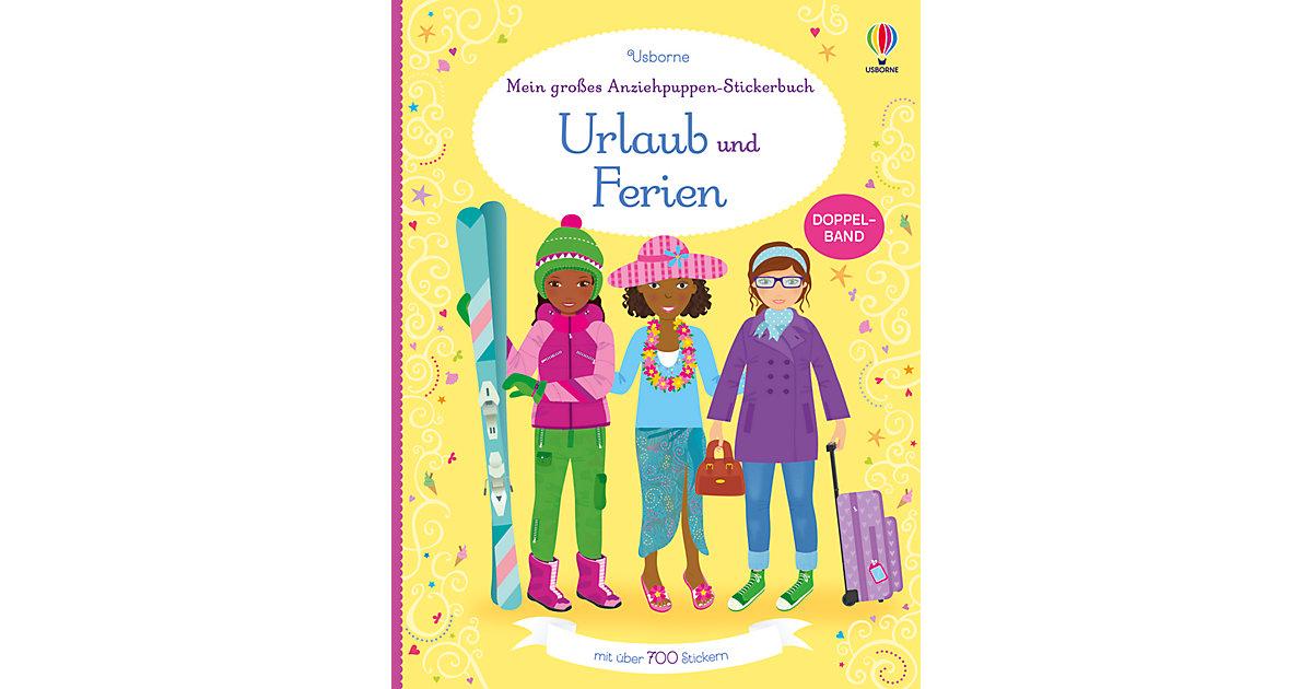 Mein großes Anziehpuppen-Stickerbuch: Urlaub un...