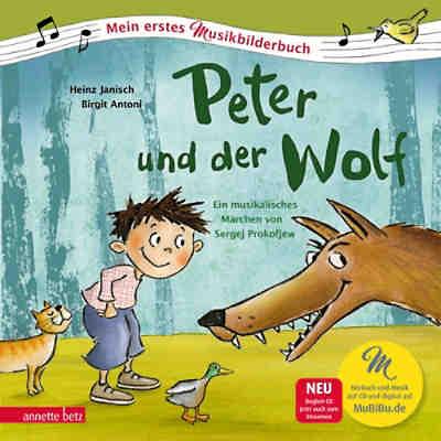 peter und der wolf 1 audio cd heinz janisch mytoys. Black Bedroom Furniture Sets. Home Design Ideas