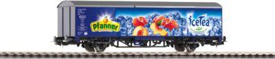 PIKO Spur H0 Gedeckter Güterwagen Pfanner Eistee V