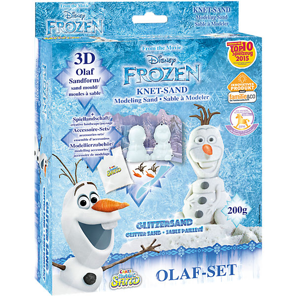 Magic Sand Box 3D Olaf
