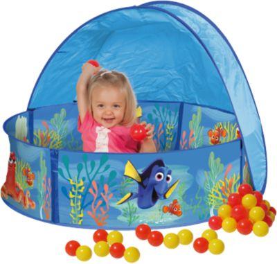 Ball-Pool Findet Dorie, inkl. 30 Bällen und Sonnendach