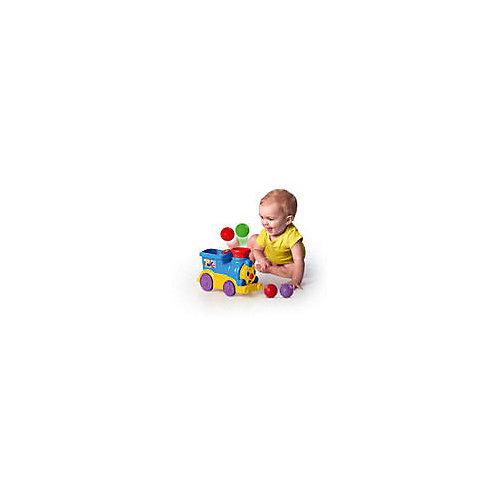 """Развивающая игрушка Bright Starts """"Весёлый паровозик с мячиками"""" от Kids II"""