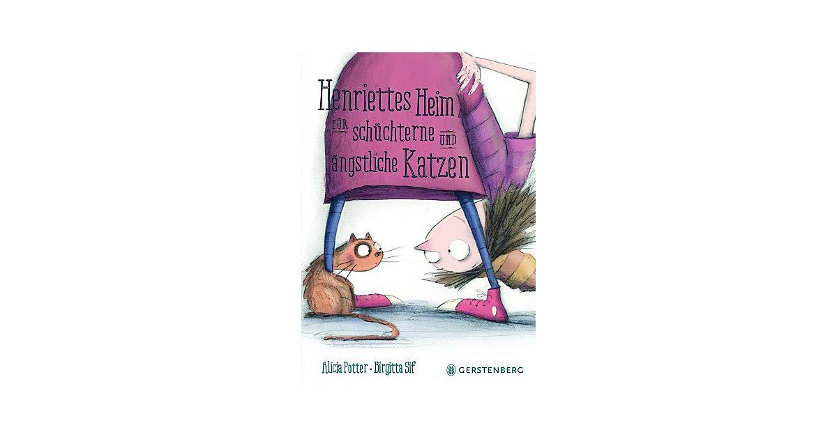 Henriettes Heim schüchterne und ängstliche Katz...