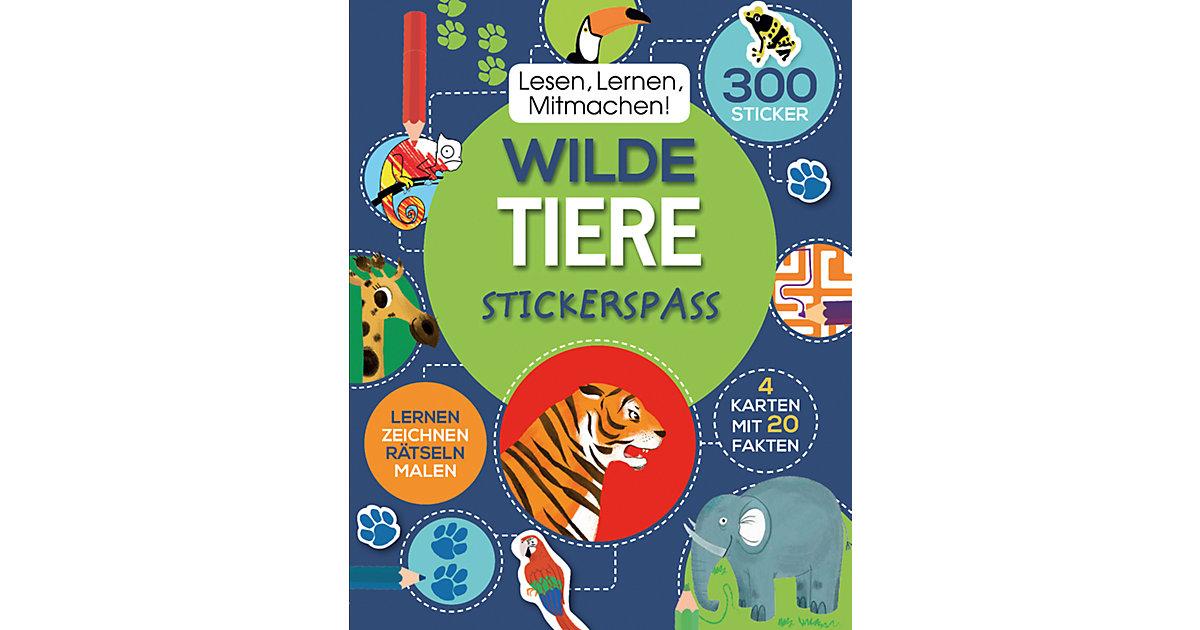Lesen, Lernen, Mitmachen! Wilde Tiere - Sticker...