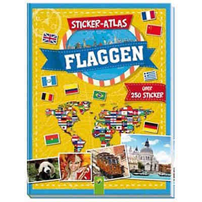 Sticker-Atlas Flaggen