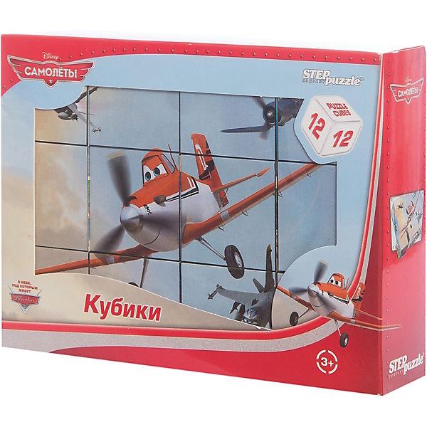 "Кубики ""Самолеты"", 12 шт, Step Puzzle"