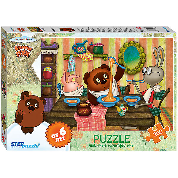 "Пазл ""Винни Пух"", 260 деталей, Step Puzzle"
