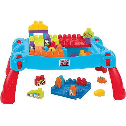 """Стол для конструирования """"Мой первый конструктор"""", MEGA BLOKS от Mattel"""