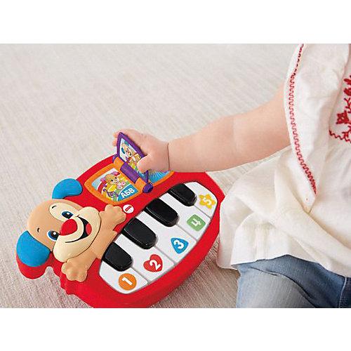 """Музыкальная игрушка Fisher-price """"Смейся и учись"""" Пианино учёного щенка от Mattel"""