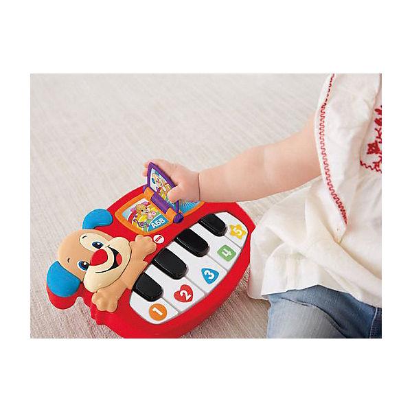 """Музыкальная игрушка Fisher-price """"Смейся и учись"""" Пианино учёного щенка"""