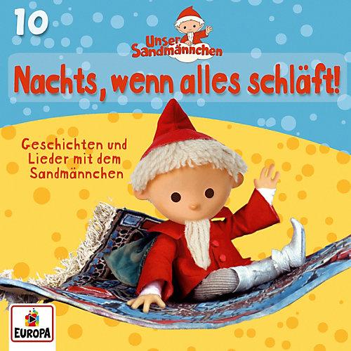 Unser Sandmännchen - 10/Nachts, Wenn Alles Schläft (CD) jetztbilligerkaufen