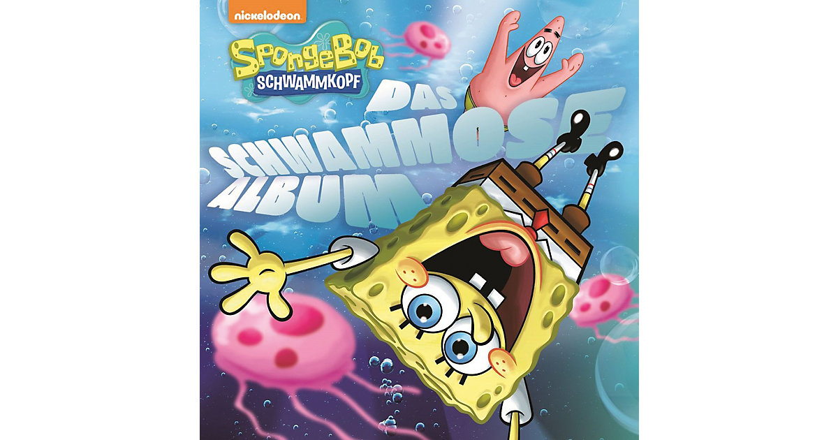 CD SpongeBob - Das schwammose Album