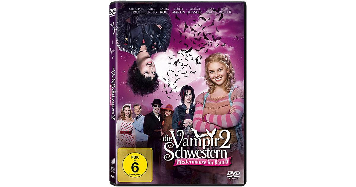 DVD Die Vampirschwestern 2 - Fledermäuse im Bauch Hörbuch