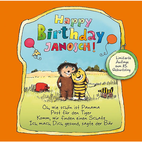CD Janosch - Happy Birthday Janosch (Limitiert)