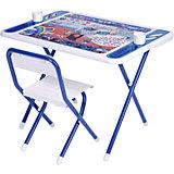 Набор мебели Дэми Ну, погоди! (3-7 лет), бело-синий