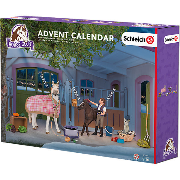 schleich 97151 horse club adventskalender pferde. Black Bedroom Furniture Sets. Home Design Ideas