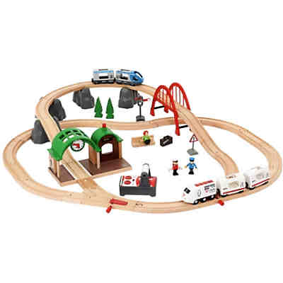 spieltisch mit eisenbahnset 120 teile kidkraft mytoys. Black Bedroom Furniture Sets. Home Design Ideas