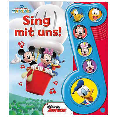 Micky Maus Wunderhaus - Sing mit uns, Soundbuch