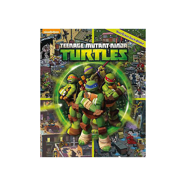 Teenage Mutant Ninja Turtles - Verrückte Suchbilder