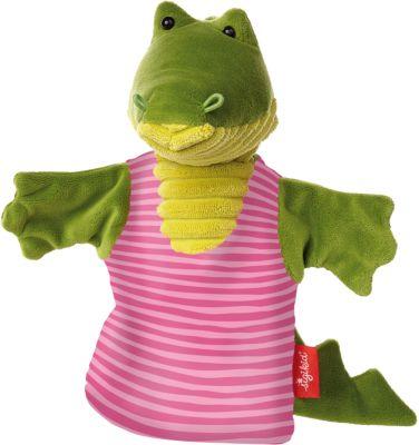 41330 Handpuppe Krokodil, Sweety, 26cm