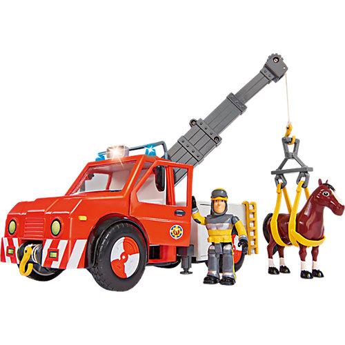 Simba Feuerwehrmann Sam - Phoenix mit Figur und Pferd Sale Angebote Schwarzbach