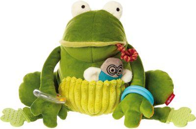 Aktiv-Frosch, In der Wiese