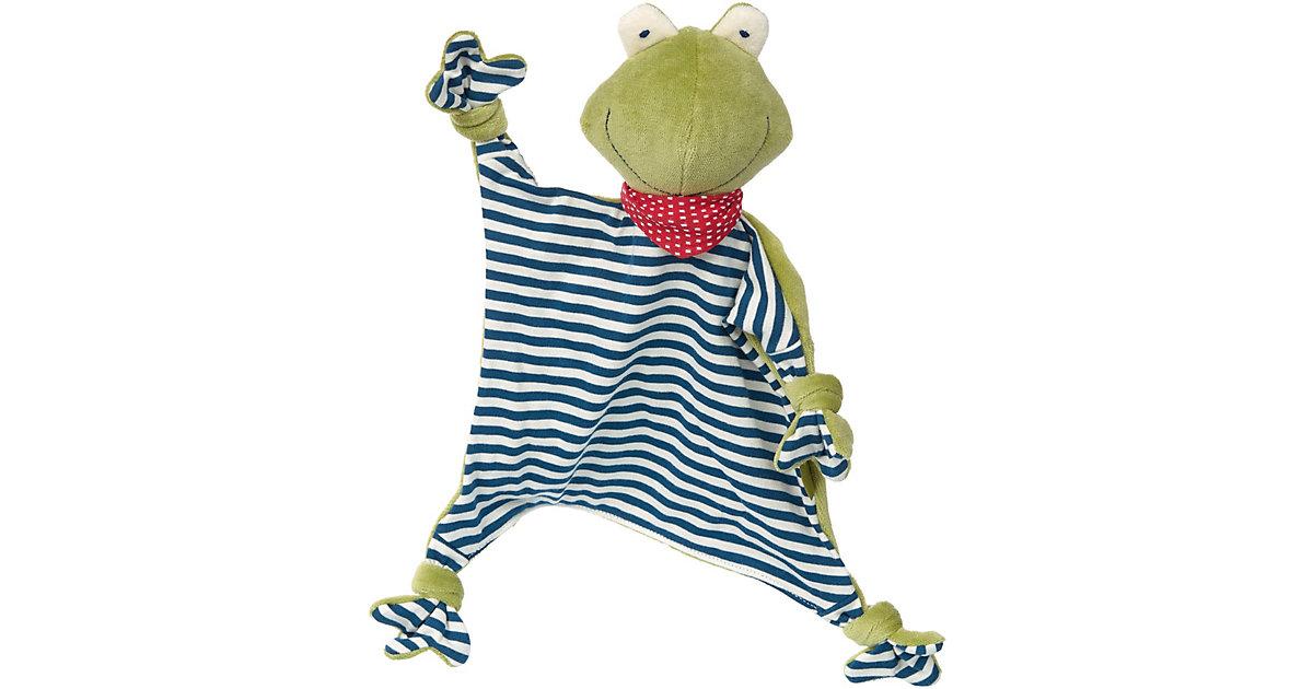 Schnuffeltuch Frosch, Naturale Love