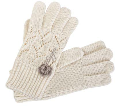 Перчатки Leila для девочки Huppa - белый