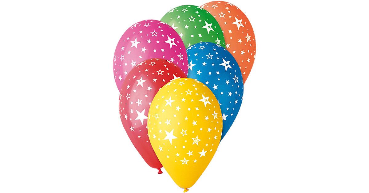 Luftballons Sterne, 30 Stück