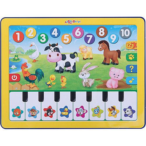 """Планшет """"Веселая радуга"""" с пианино от Азбукварик"""