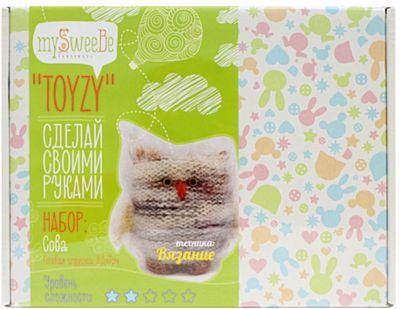 "Набор для вязания Toyzy ""Сова"""