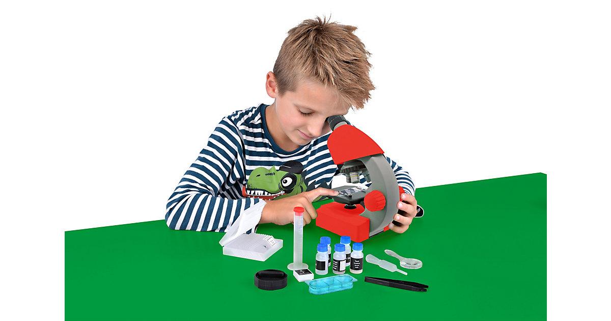 40x-640x Mikroskop Rot