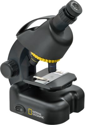 Mikroskop inkl. Smartphone-Halter (40x-640x)