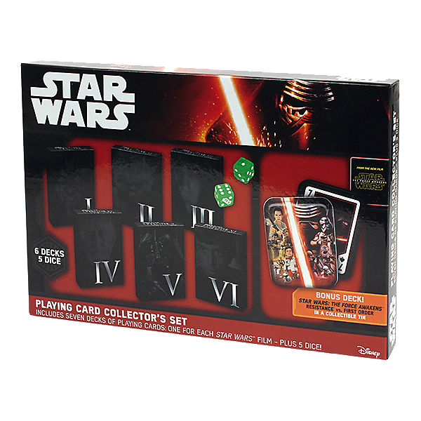 Star Wars Playing Cards Collector´s Set I - VII
