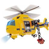 """Спасательный вертолет Dickie Toys """"Action Series"""" со светом и звуком, 18 см"""